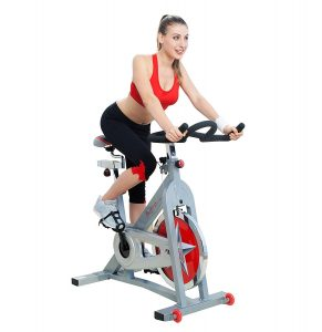 sunny health fitness pro indoor cycling bike review